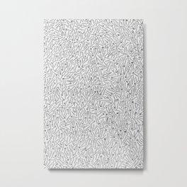 Cutlery Pattern Metal Print