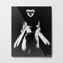 Fear No Evil Metal Print