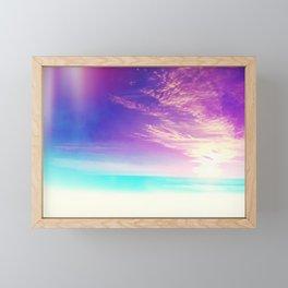Somewhere Far Away Framed Mini Art Print