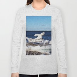 Abstract Ice Sculpture Long Sleeve T-shirt
