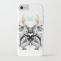 wild things iPhone & iPod Cases featuring Wild Things by MadeByLen