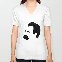 nietzsche V-neck T-shirts featuring NIETZSCHE by eve orea