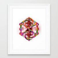 matrix Framed Art Prints featuring Matrix by Brian Raggatt