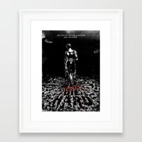 die hard Framed Art Prints featuring Die Hard by Dan K Norris