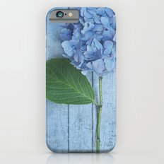 Powder Blue Hydrangea iPhone 6s Slim Case