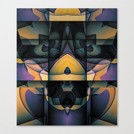 The Monster Under The Bed Canvas Print