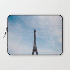 Blue Skies in Paris Laptop Sleeve