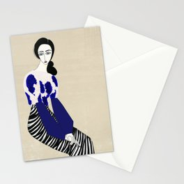 Henri Matisse inspired fashion #3 Stationery Cards