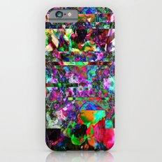Vertical Floral iPhone 6s Slim Case