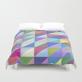 Geometric Shapes I Duvet Cover