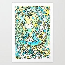 The Galaxy of Creativity Art Print
