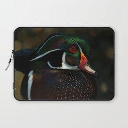 Male Wood Duck | Art | Birds | North America |Wildlife Laptop Sleeve