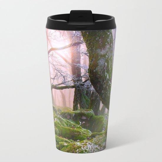 Fantasy Forest #frost Metal Travel Mug