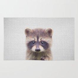 Raccoon - Colorful Rug
