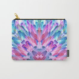 tropical bird feathers Carry-All Pouch
