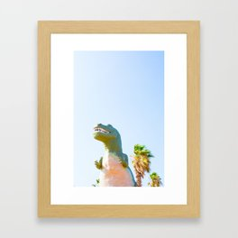 Cabazon Dino 1 Framed Art Print