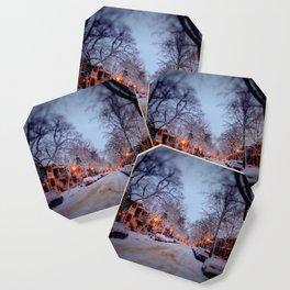 Winter scene Coaster