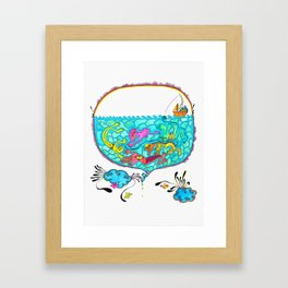 Pesca Milagrosa Framed Art Print