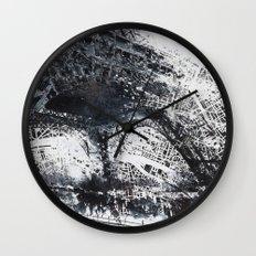 Paris Map Wall Clock