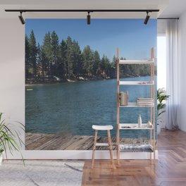 Lake Tahoe On Lake View Wall Mural