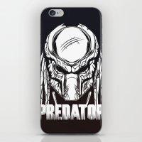 predator iPhone & iPod Skins featuring Predator by OneAppleInBox