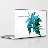 tinker bell Laptop & iPad Skins featuring Tinker Bell I'll always love you by Chien-Yu Peng