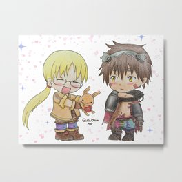 Made in Abyss Metal Print