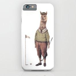 Alpaca Golf Club iPhone Case
