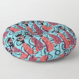 African ladies Floor Pillow