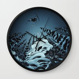 The Lost Season Wall Clock