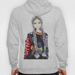 anime girl Hoody