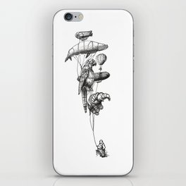 The Helium Menagerie iPhone Skin