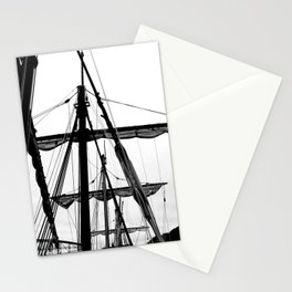 Ships Masts Stationery Cards