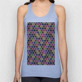Colorful Hexagon Seamless Pattern Unisex Tank Top