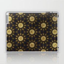 Islamic decorative pattern with golden artistic texture Laptop & iPad Skin