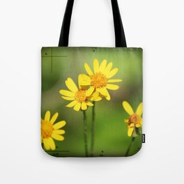Yellow Flower Dream Tote Bag