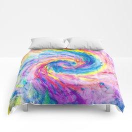 digital tie dye 15 Comforters