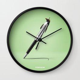 Penguin B Wall Clock