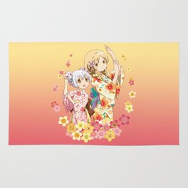 Mami Tomoe & Nagisa Momoe - Love Yukata edit. Rug