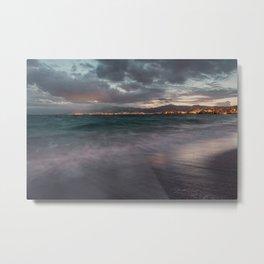 Night seascape Metal Print