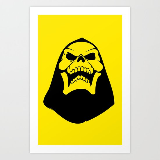 Skeletor. Art Print