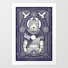 Visitor from the West Art Print