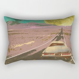 EVENING EXPLOSION II Rectangular Pillow