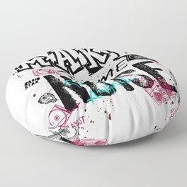 Make some Noise Floor Pillow