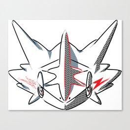 Ninja Monster Canvas Print