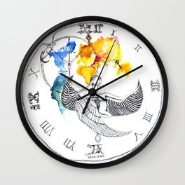 There is Hope for Peace with Time and Justice Wall Clock
