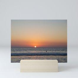 last surf Mini Art Print