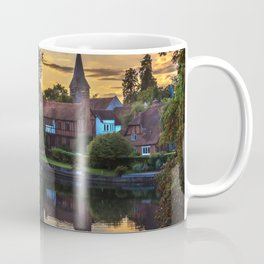 Early Evening Whitchurch on Thames Coffee Mug