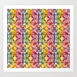 Ornament Tile Art Print