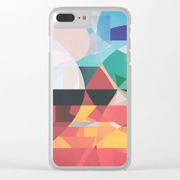 Between Fire and Air Clear iPhone Case